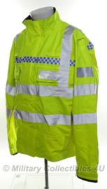 Britse politie jas geel reflecterend - origineel - type nr. 21