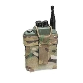 Warrior assault systems MOLLE Personal Role Radio Pouch Multicam PRR voor bijv. H4855 Selex - Nieuw