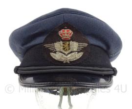 Belgische Luchtmacht BAF platte pet - maat 56 1/2 - origineel