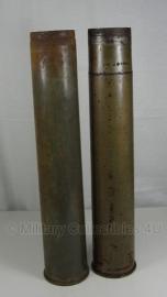 8,8 cm Flak huls Flak 18 huls Duits - verkoperd staal - origineel