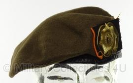 KL Nederlandse leger baret Regiment van Heutsz - maat 55,57,58, 61 - origineel