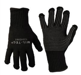 Gripper handschoenen contact handschoenen ZWART - nieuw