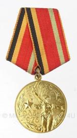 Russische medaille - 30 jaar van de overwinning in de Grote Patriottische Oorlog 1945-1975 - origineel