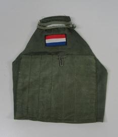 Nederlandse leger groene armband groen - met NLD vlag - origineel