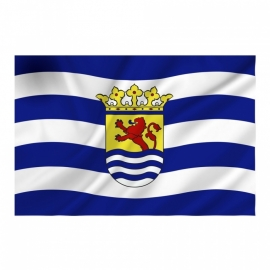 Provincie vlag Zeeland - Polyester -  1 x 1,5 meter