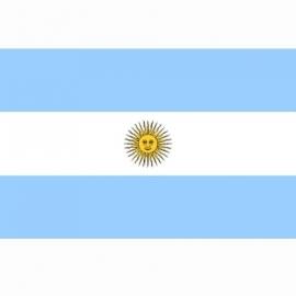 Vlag Argentinie - Polyester -  1 x 1,5 meter