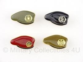 Mini baret speldjes - Nederlandse Leger - verschillende varianten - origineel