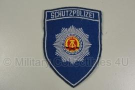 DDR NVA schutzpolizei embleem - origineel