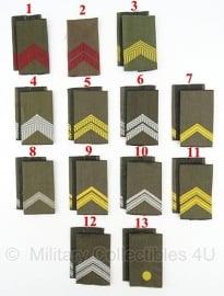 KL paar Rangen GVT gevechtstenue - vanaf Jaren '90  - origineel