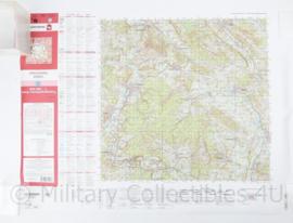 Duitse Stafkaart C4322 Holzminden  2012- 1 : 50.000 - 55 x 75 cm - origineel