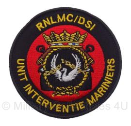 Unit Interventie Mariniers embleem - met klittenband - 9 x 9 cm