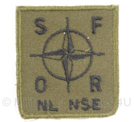 KL borst embleem SFOR NL NSE - 5 x 5 cm - origineel