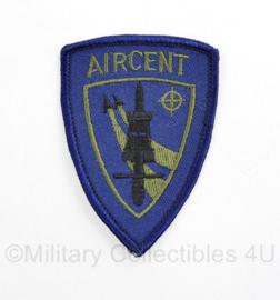 NATO en Klu Luchtmacht AIRCENT embleem - 8 x 5,5 cm - origineel