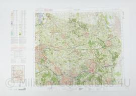 Defensie stafkaart 28 Oost Almelo M733 - schaal 1 : 50.000 -57 x 83 cm - origineel
