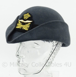 KLu Luchtmacht dames DT hoed met insigne - maat 57- origineel