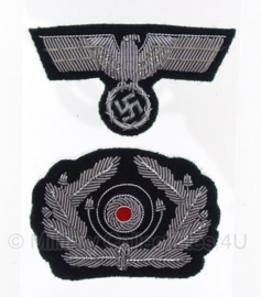 Schirmmütze Crusher cap set EMBROIDERED - officier