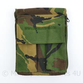 Defensie Noorloos Woodland tasje voor schrijfblok - 17 x 13 x 3 cm - nieuw - origineel