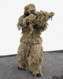 Ghillie Suit 4-delig! - met rifle cover  - desert - anti fire