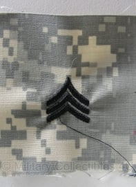 US Army - ACU Sergeant rank  patch- origineel