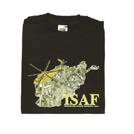 T shirt ISAF Mission - maat M of XL