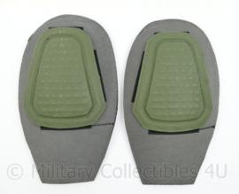 Defensie style kniebeschermers voor Combat Pants groen - 25 x 15 cm - origineel