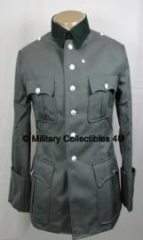 M36 officiers jas MET pofbroek - Gabardine stof - maat XXL of 3XL - voor officieren en generaals