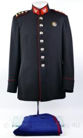 Stoottroepen GLT gala Tenue jas 1957 met broek - met borst brevet- Luitenant - Kolonel - maat M - origineel