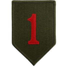 US 1st Infantry Division embleem - origineel naoorlogs
