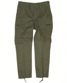 Afritsbroek ZIP-OFF Field trousers - groen