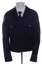 US Police uniform jacket donkerblauw - maat Small - origineel