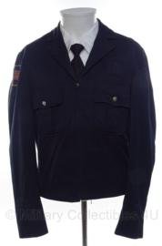 US Police uniform jacket donkerblauw - maat Small - origineel