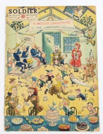 The British Army Magazine Soldier Vol.8 No 10 December 1952 -  Afkomstig uit de Nederlandse MVO bibliotheek - 30 x 22 cm - origineel