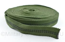 Defensie lint ter versterking  7,75 meter - voor bijvoorbeeld versteviging of reparatie van kleding - 775 x 2,5 cm - nieuw - origineel