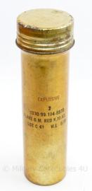 Britse leger LEGE houder voor explosieven FLARE GM RED GX67 MK1- 28 x 8 x 7,5 cm - gebruikt - origineel