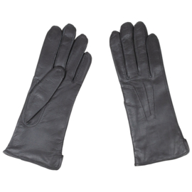 KL Nederlandse leger handschoenen ZONDER riempje DAMES - zwart leer - NIEUW - maat 8 - origineel