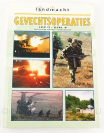 KL Landmacht handboek Gevechtsoperaties  LDP II Deel B Reguliere Gevechtsoperaties