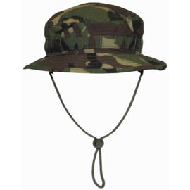 Boonie hat / Bush hat Ripstop - Special Forces model Short Brim - Britse leger DPM camo