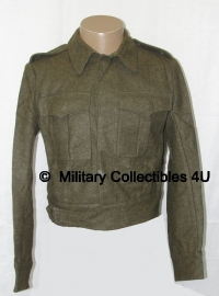 Battledress jacket MVO net naoorlogs - Ike jacket - WO2 Canadees model
