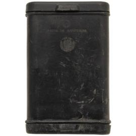 Geweer kaliber 7.62 schoonmaak blik kunststof - zonder inhoud - 13,5 x 8,5 x 2,5 cm - origineel