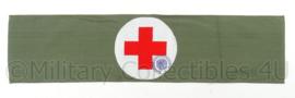 Rode kruis armband - omkeerbaar - afmeting 49 x 12 cm - origineel