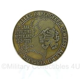Nederlandse Defensie coin - 50 jaar bevrijding 1945-1985-  origineel