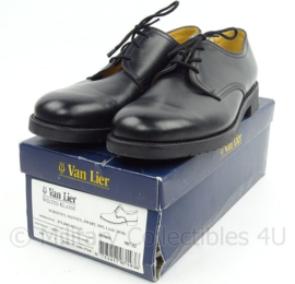 KL Nederlandse leger DT schoenen zwart met rubberen zool Welted Klasse - merk van Lier - NIEUW in doos - maat 290S = 45S - origineel