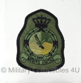 KLU Luchtmacht DHC Defensie Helicopter Commando embleem met klittenband - origineel