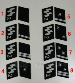 SS kraagspiegels 2e Divisie - manschappen