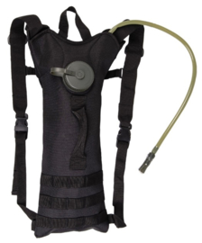 Water pack waterrugzak 3 liter - nieuw gemaakt - Zwart