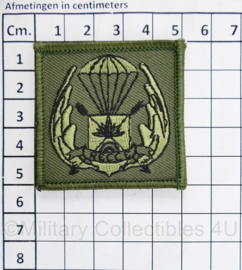Defensie borst  embleem RECCE reconnaissance - met klittenband - 5 x 5 cm - origineel