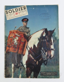 The British Army Magazine Soldier Vol.9 No 3 May 1953 -  Afkomstig uit de Nederlandse MVO bibliotheek - 30 x 22 cm - origineel