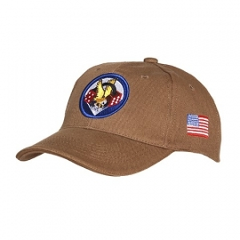 Baseball cap 506nd PIR - zwart of khaki