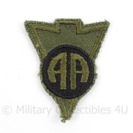 US Army Vietnam Oorlog 82nd Airborne  LRRP RECON patch subdued - afmeting 4 x 5 cm - Origineel