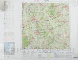 Stafkaart 145 Deventer - 1 : 100.000 - 71 x 57 cm - origineel